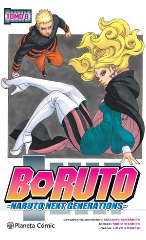 BORUTO. NARUTO NEXT GENERATIONS #08