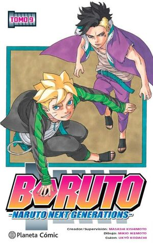 BORUTO. NARUTO NEXT GENERATIONS #09