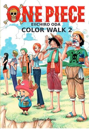 ONE PIECE COLOR WALK #02