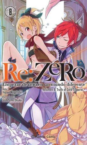 RE:ZERO #08 (NOVELA)