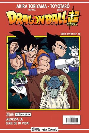 DRAGON BALL SERIE ROJA 256