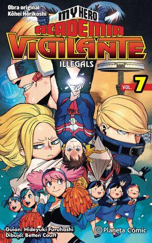 MY HERO ACADEMIA: VIGILANTE ILLEGALS #07
