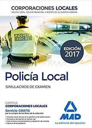 POLICIA LOCAL: SIMULACROS DE EXAMEN