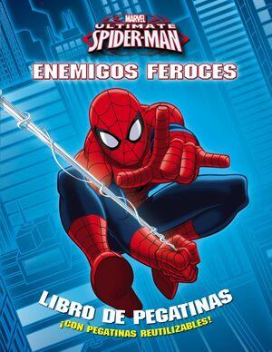SPIDERMAN. ENEMIGOS FEROCES: LIBRO DE PEGATINAS
