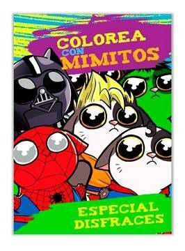 COLOREA CON MIMITOS (ESPECIAL DISFRACES)