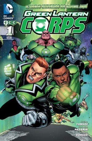 GREEN LANTERN CORPS #01