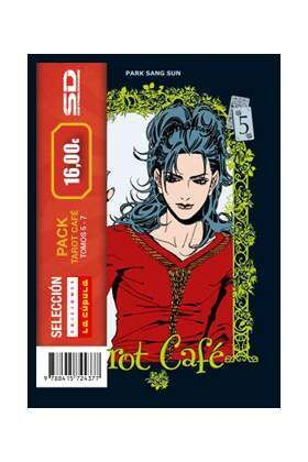 PACK SELECCION LA CUPULA: TAROT CAFE (VOLS. 5 A 7)