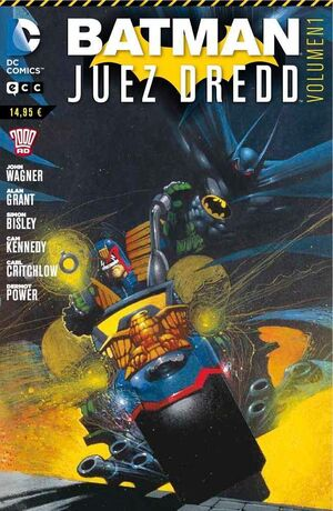 BATMAN / JUEZ DREDD #01