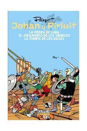 JOHAN Y PIRLUIT VOL. 02: LA PIEDRA DE LUNA - EL JURAMENTO DE LOS VIKINGOS