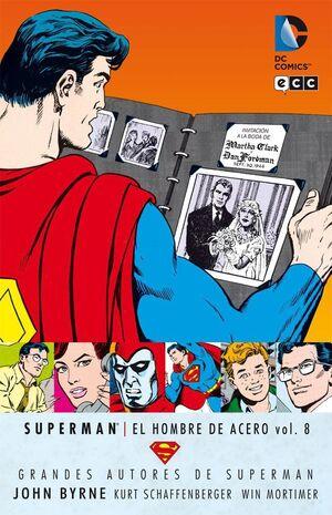 GRANDES AUTORES DE SUPERMAN: JOHN BYRNE - SUPERMAN: EL HOMBRE DE ACERO #08
