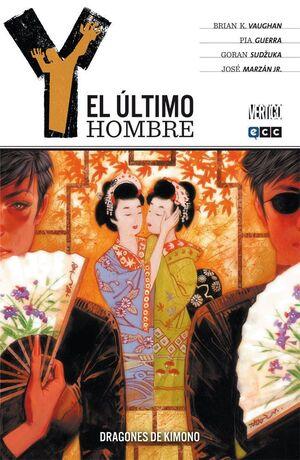 Y, EL ULTIMO HOMBRE #08. DRAGONES DE KIMONO