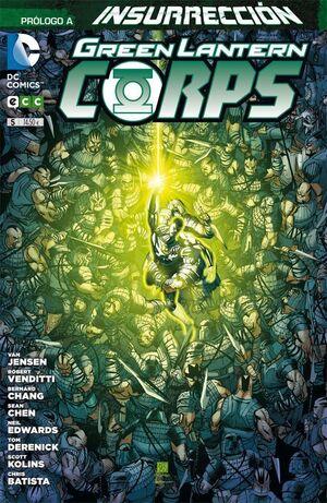 GREEN LANTERN CORPS #05 (ECC EDICIONES)