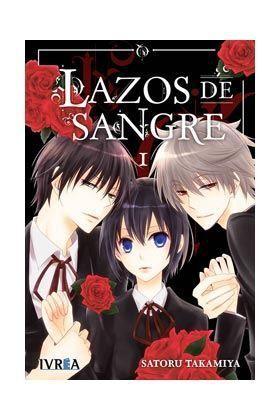 LAZOS DE SANGRE #01 (MANGA IVREA)