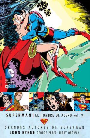 GRANDES AUTORES DE SUPERMAN: JOHN BYRNE - SUPERMAN: EL HOMBRE DE ACERO #09