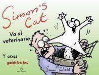 SIMON´S CAT VA AL VETERINARIO