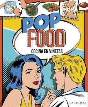 POP FOOD COCINA EN VIÑETAS