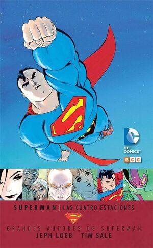 GRANDES AUTORES DE SUPERMAN: J. LOEB/T. SALE - SUPERMAN: LAS CUATRO ESTACIO