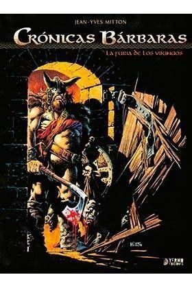 CRONICAS BARBARAS #01: LA FURIA DE LOS VIKINGOS