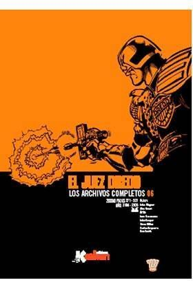 JUEZ DREDD: LOS ARCHIVOS COMPLETOS #006 (INTEGRAL)