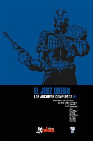 JUEZ DREDD: LOS ARCHIVOS COMPLETOS #004 (INTEGRAL)