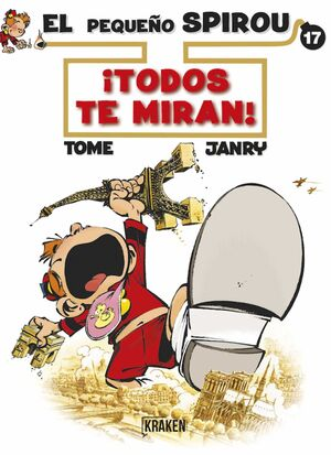 EL PEQUEÑO SPIROU #17. TODOS TE MIRAN!