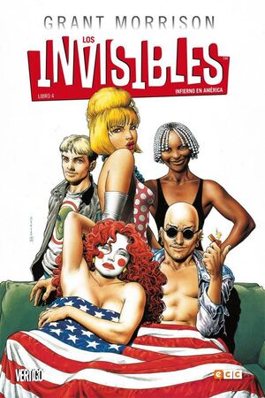 LOS INVISIBLES #04. INFIERNO EN AMERICA (ECC)