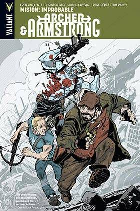 ARCHER & ARMSTRONG #05. MISION IMPROBABLE