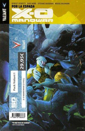 PACK VALIANT 01. X-O MANOWAR (5 VOL)