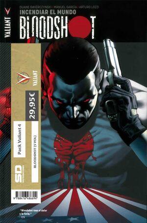 PACK VALIANT 04. BLOODSHOT (5 VOL)
