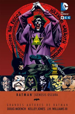 GRANDES AUTORES DE BATMAN: MOENCH / JONES - GENESIS OSCURA