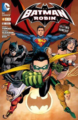 BATMAN Y ROBIN #12