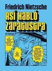 ASI HABLO ZARATUSTRA (EL MANGA)