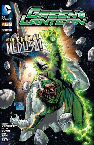 GREEN LANTERN #045. EL EFECTO MEDUSA!