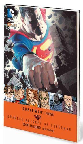 GRANDES AUTORES DE SUPERMAN: SCOTT MCCLOUD – FUERZA