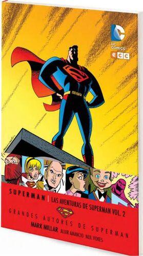 GRANDES AUTORES DE SUPERMAN: MARK MILLAR - LAS AVENTURAS DE SUPERMAN #02