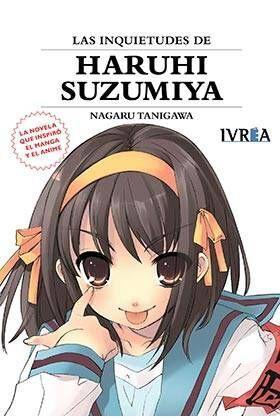 LAS INQUIETUDES DE HARUHI SUZUMIYA (NOVELA)