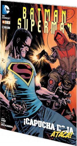 BATMAN / SUPERMAN #032. CAPUCHA ROJA ATACA!
