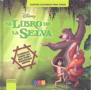 EL LIBRO DE LA SELVA LIBRO. CUENTOS ACCESIBLES PARA TODOS