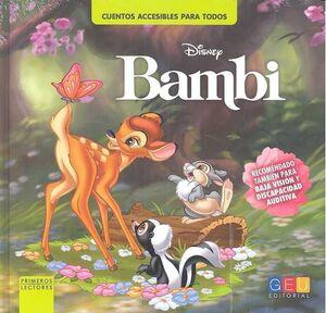 BAMBI. CUENTOS ACCESIBLES PARA TODOS