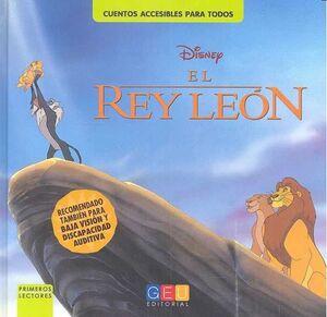 EL REY LEON. CUENTOS ACCESIBLES PARA TODOS