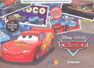 CARS. LIBRO PUZZLE ATENCION