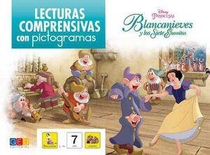 LECTURAS COMPRENSIVAS CON PICTOGRAMAS: BLANCANIEVES Y LOS SIETE ENANITOS