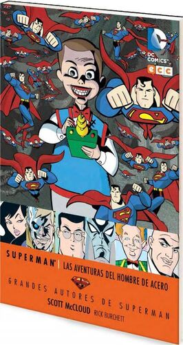 GRANDES AUTORES DE SUPERMAN: S MCCLOUD – LAS AVENTURAS DEL HOMBRE DE ACERO