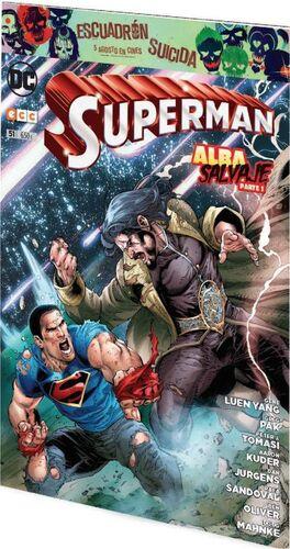 SUPERMAN MENSUAL VOL.3 #051. ALBA SALVAJE PARTE 1