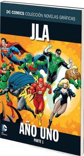 COLECCIONABLE DC COMICS #010 JLA AÑO UNO - PARTE 1