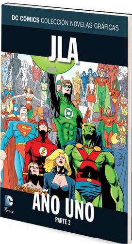 COLECCIONABLE DC COMICS #011 JLA AÑO UNO - PARTE 2