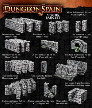 DUNGEON SPAIN: ALCANTARILLAS