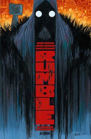 RUMBLE #01. EL COLOR DE LA OSCURIDAD