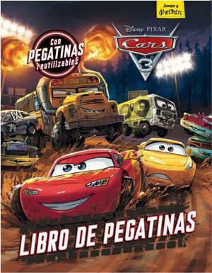 CARS 3. LIBRO DE PEGATINAS