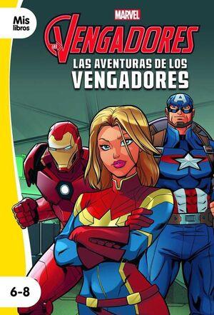 LAS AVENTURAS DE LOS VENGADORES. MIS LIBROS 6-8 (NARRATIVA AMARILLA)